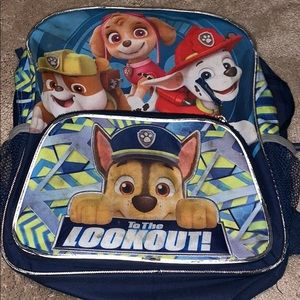 Paw Patrol Backpack!